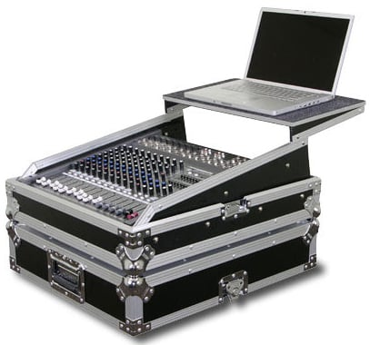 Flight Zone Glide-Style Rackmount Mixer Console Case