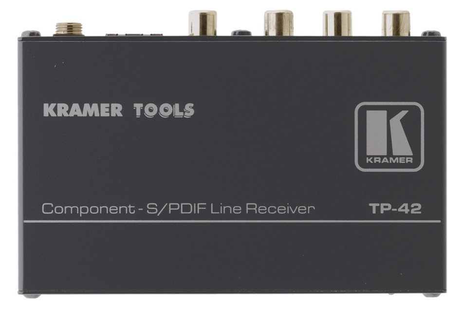 Component S/PDIF Line Receiver