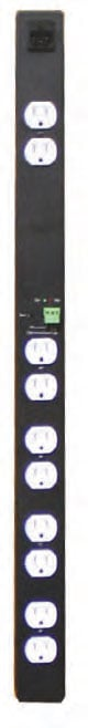 15A Corded AC Power Strip with Remote Control