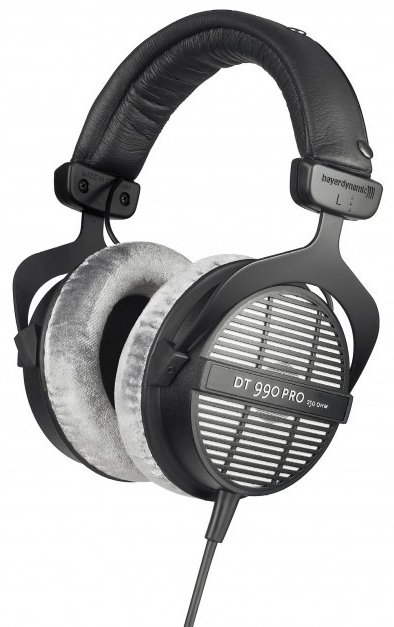 Open-Back 250 Ohm Dynamic Headphones