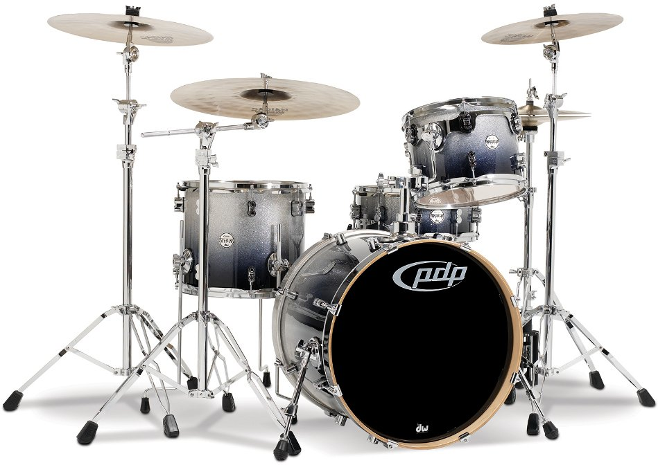 "Pacific Drums PDCM2014 Concept Series Maple 4-Piece Shell Pack: 16x20"" Bass Drum, 9x12"" Rack Tom, 12x14"" Floor Tom, 5.5x14"" Snare Drum PDCM2014"