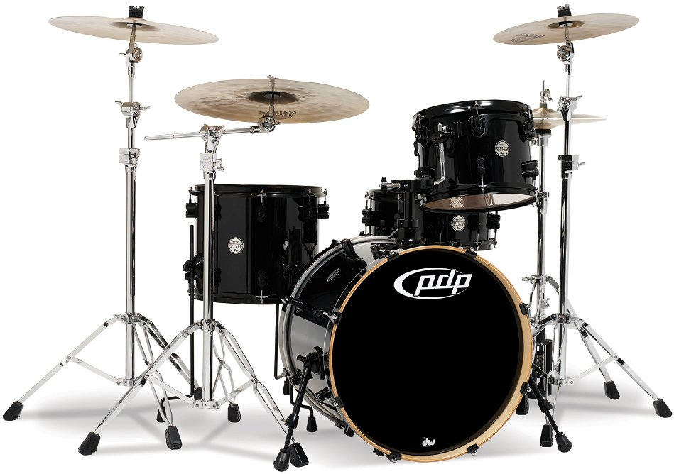 "Concept Series Maple 4-Piece Shell Pack: 16x20"" Bass Drum, 9x12"" Rack Tom, 12x14"" Floor Tom, 5.5x14"" Snare Drum"