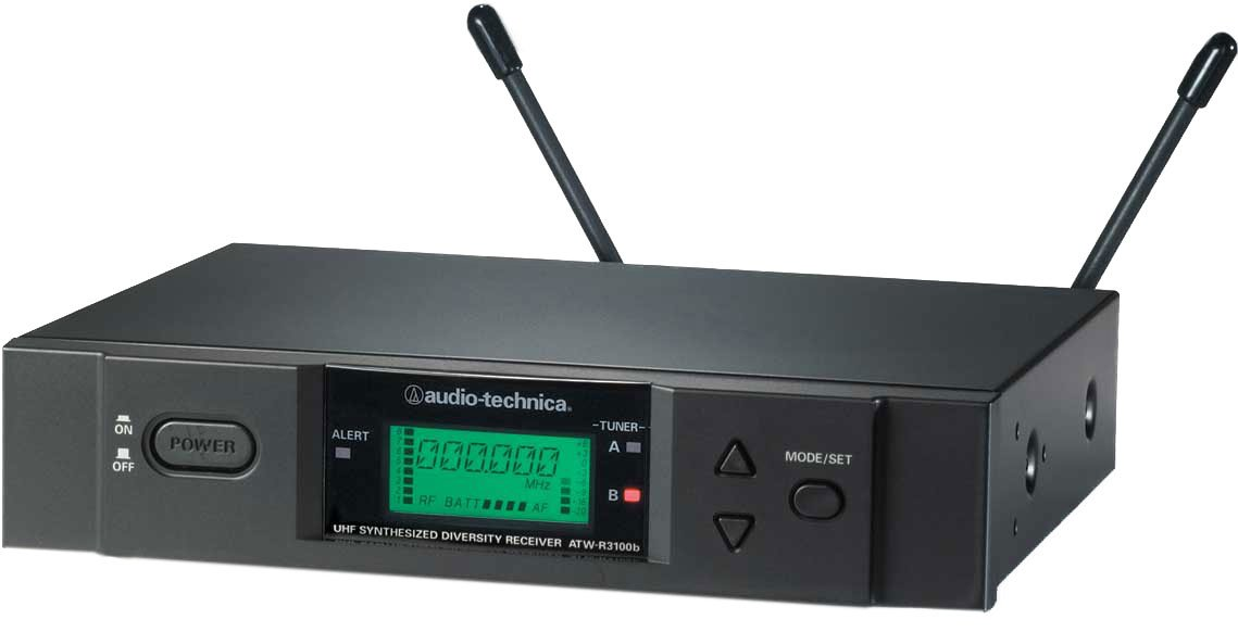 Wireless Microphone UHF Diversity Receiver - Band C (TV25-30)