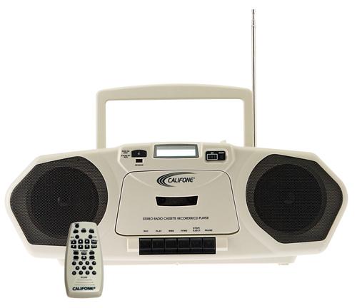 Cassette/CD/MP3 Multimedia Player/ Recorder