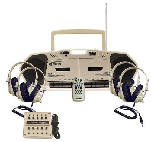 Califone International 2395PLC 4-Person MusicMaker System 2395PLC