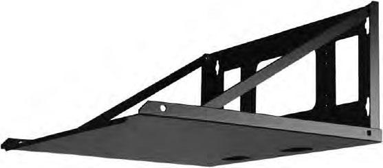 """Flat Ship Wall Shelf (20"""" D)"""