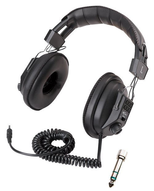 Stereo/Mono Switchable Headphones
