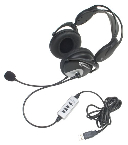 USB Stereo Headset, with Microphone