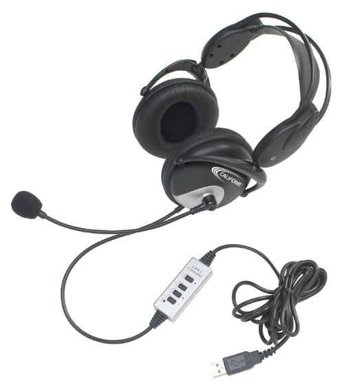 Califone 4100 Usb Usb Stereo Headset With Microphone