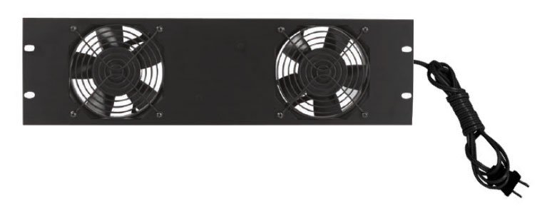 "19"" Panel with (2) Whisper Fans"