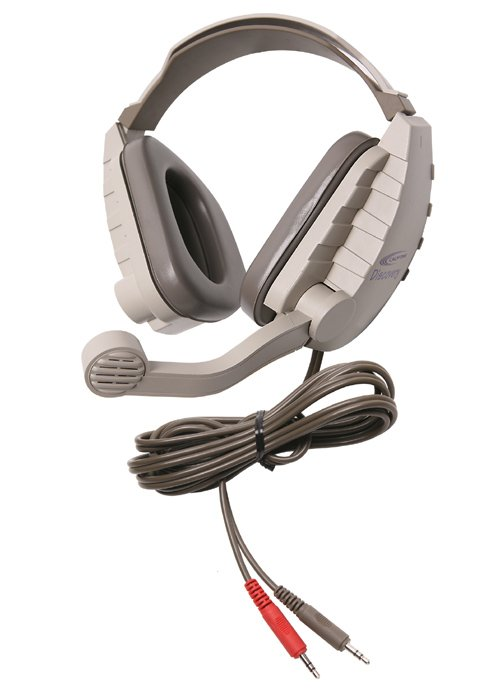 Discovery™ Stereo Binaural Headset, with Microphone