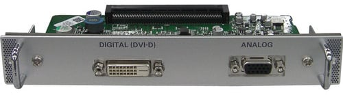 DVI-D/15-Pin D-Sub Terminal Expansion Board for Select Sanyo Projectors