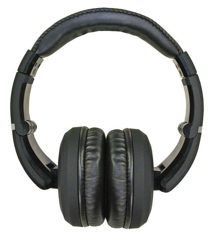 Stereo Headphones with Detachable Cable in Black