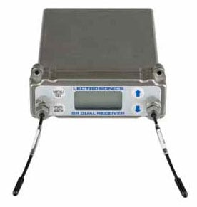 Dual Channel Camera Slot UHF Receiver