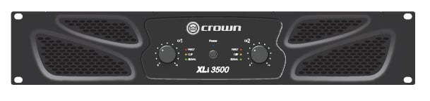 Crown XLi3500 1350W @ 4 Ohms Power Amplifier XLI3500