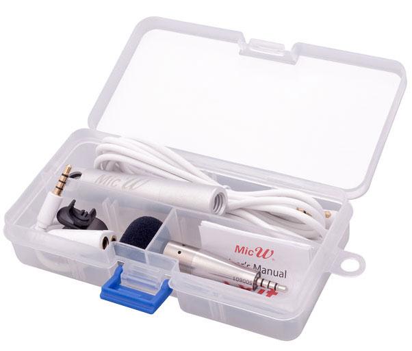 Miniature Measurement Microphone Kit for iOS