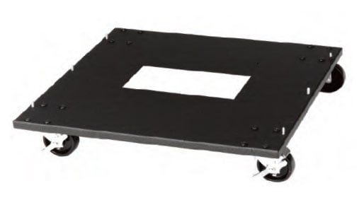 "Shallow Mobile Base for 22"" Deep Racks"