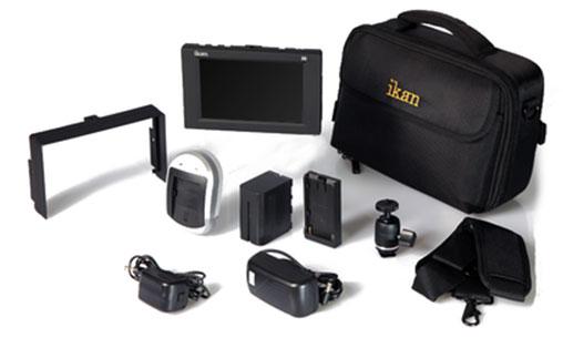 "ikan Corporation D5w-DK-S D5w 5.6"" LCD Monitor Deluxe Kit forSony L Series Batteries D5W-DK-S"