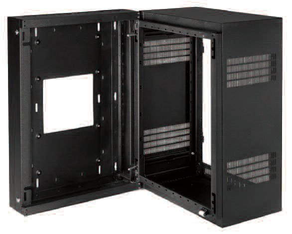 "16 RU (23""D) Sectional Wall-Mount Rack"