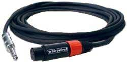 Whirlwind STF10 TRS-XLRF Cable, 10 Ft STF10