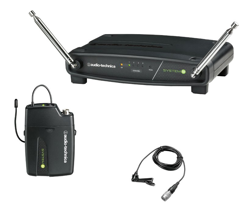 VHF Wireless Omnidirectional Lavalier Microphone System