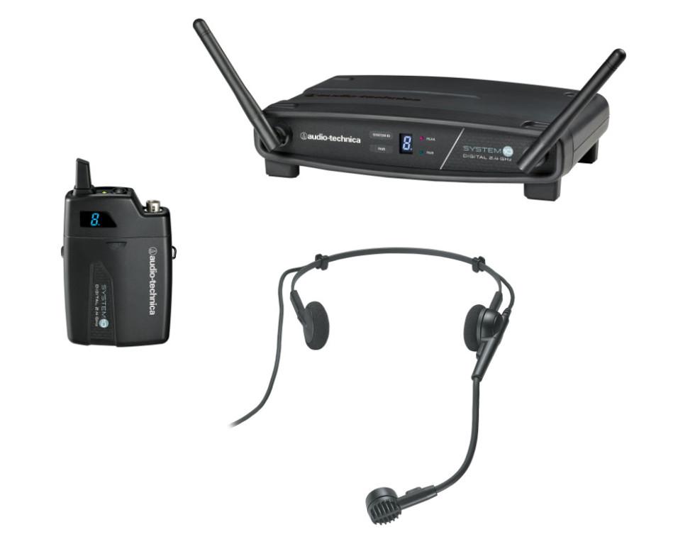 System 10 2.4 GHz Wireless System with Pro8HECW Headworn Microphone