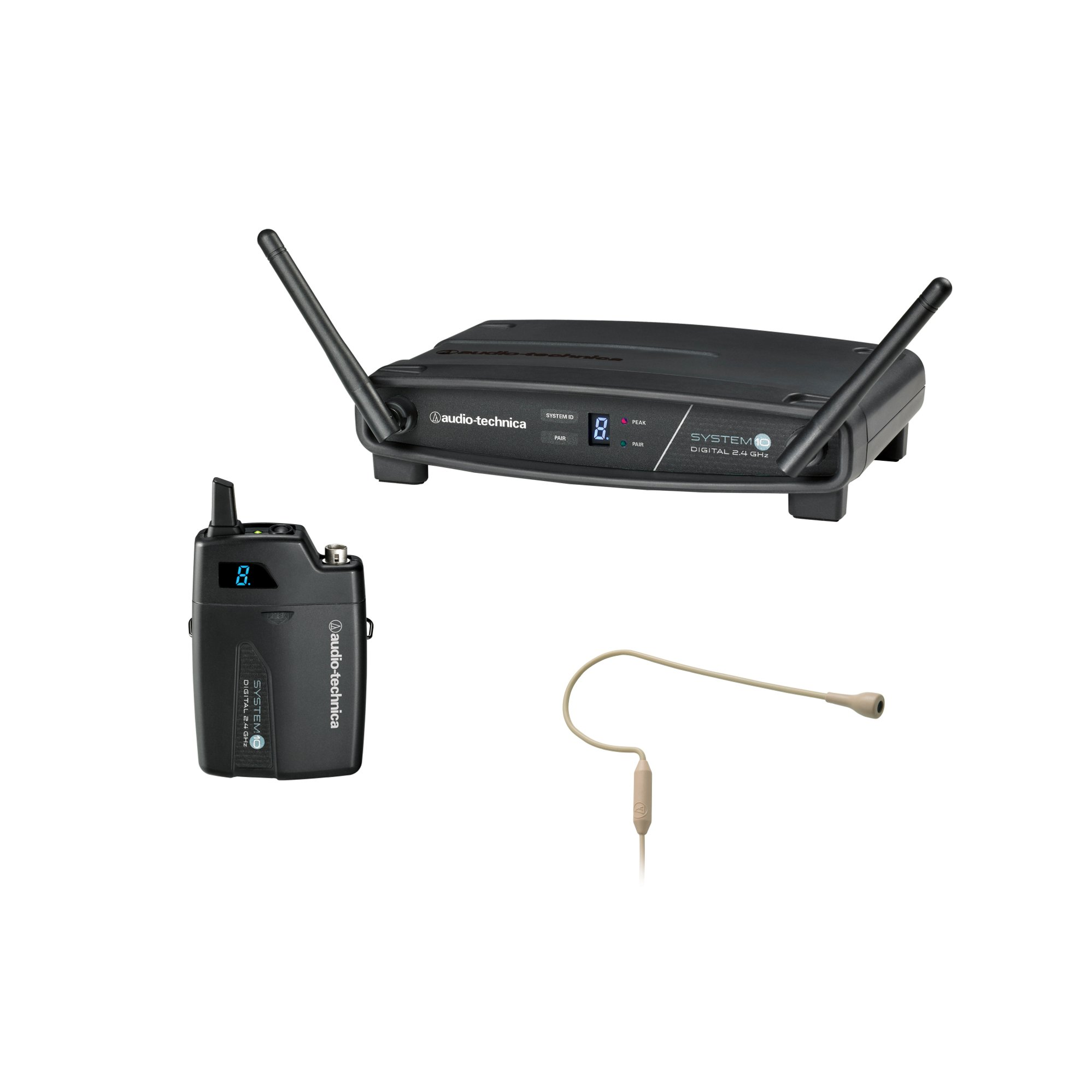 System 10 2.4 GHz Wireless System with Pro92cW-TH Headworn Microphone, Beige