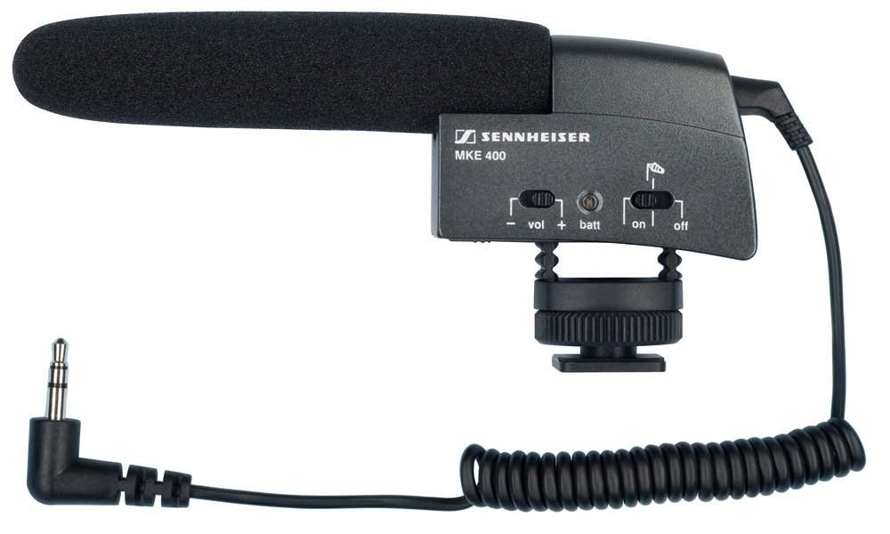 Shoe Mount Compact Shotgun Microphone for Video Camera