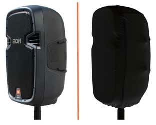 Black Stretch Cover for JBL EON15 Speaker