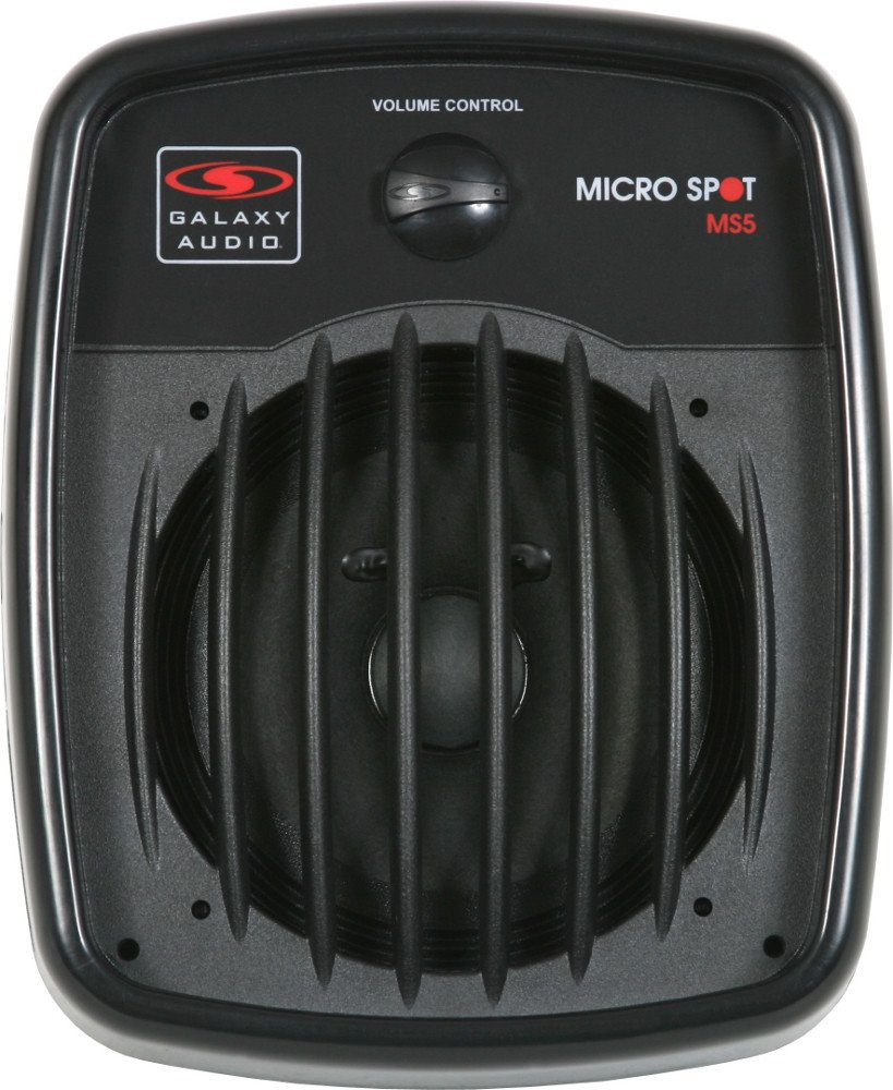 "Galaxy Audio MS5 5"" 100W @ 16 ohm Speaker with Volume Control in Black MS5-GALAXY"