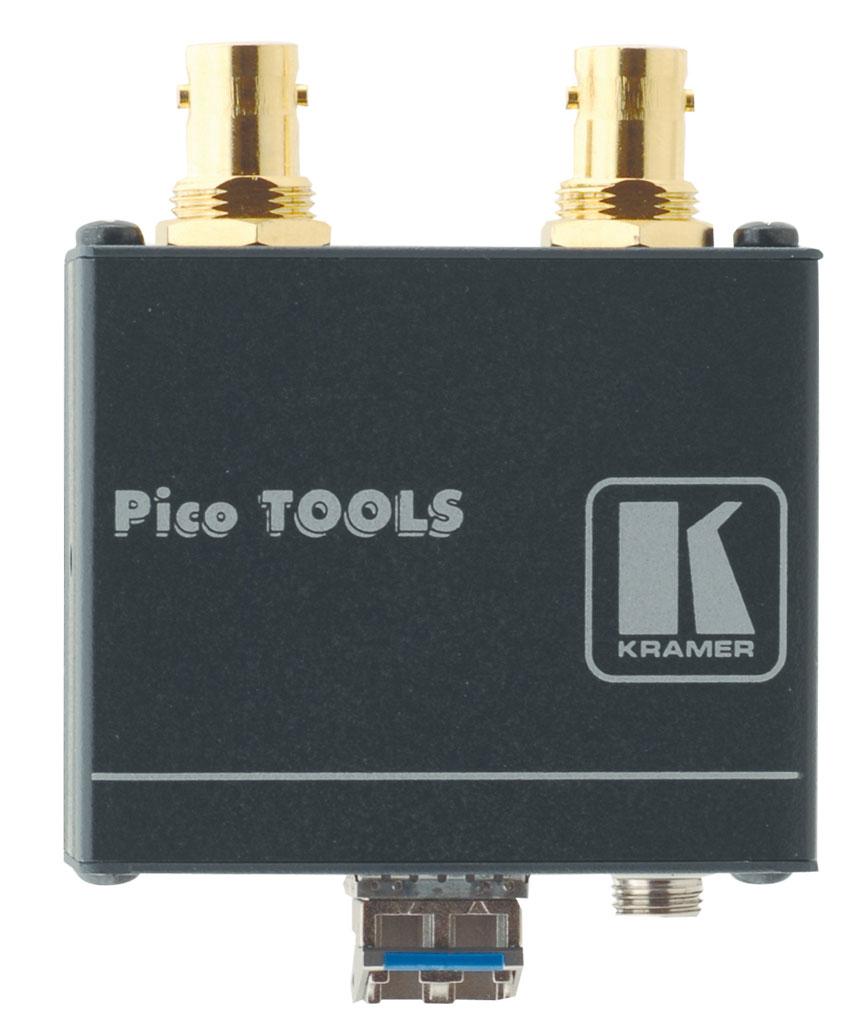 2-Channel 3G HD-SDI Fiber Optic Transmitter
