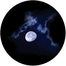 Moon Glow Glass Gobo