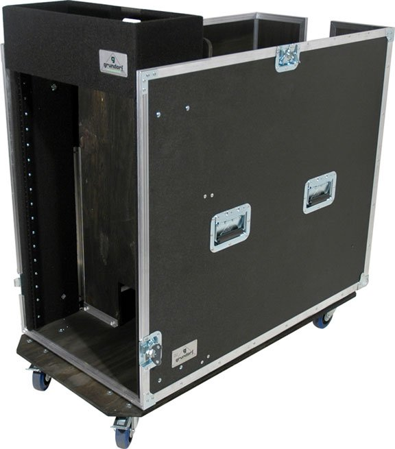 Tour 8 Series Snake Rack, 12 Space with Large Casters