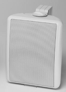 White 50W OS Indoor/Outdoor Speaker System