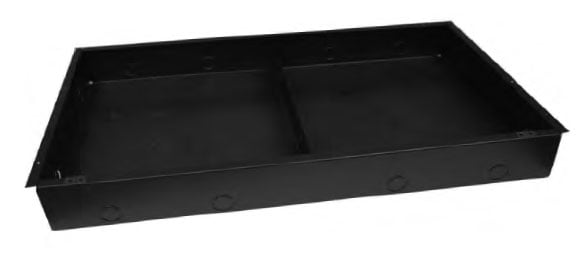 Lowell PC312  Recessed Backbox for Clock/Speaker Center PC312
