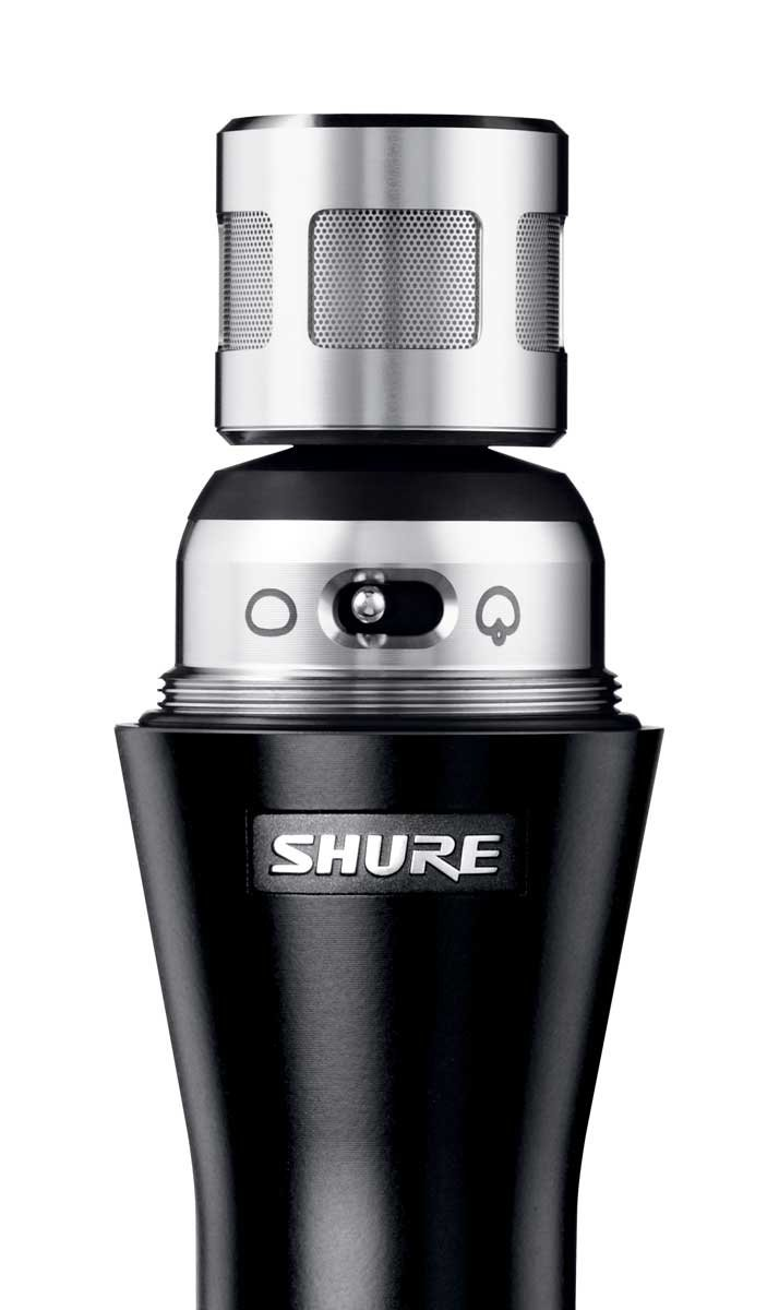 Dual-Pattern Handheld Condenser Microphone