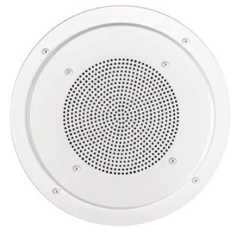 "Lowell RS8-AW White Screw-Mount Aluminum Grille for 8"" Speaker RS8AW"
