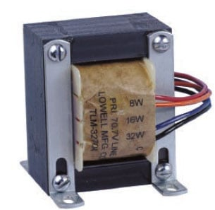 Lowell TLM3270A  32W 70V High Performance Transformer TLM3270A