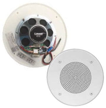 "ULS 8"" Speaker Assembly (Round Grille) for Fire Protective Signaling"