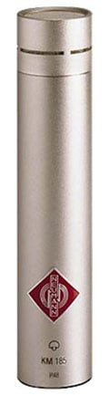 Neumann KM 185 ni Hypercardioid Condenser Microphone in Satin Nickel Finish with K50 Capsule and Accessories KM185-SILVER
