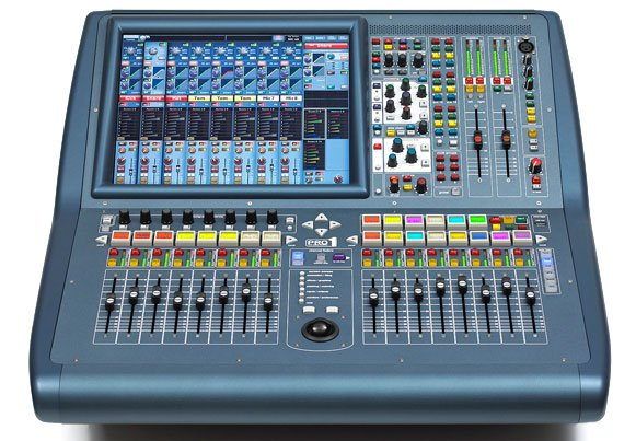 PRO1 40 Channel x 27 Bus Digital Audio Mixing System - Install Package