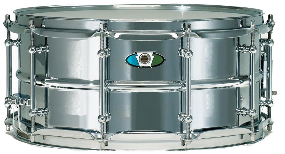 "6.5"" x 14"" Supralite Steel Snare Drum"