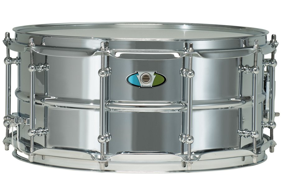 "5.5"" x 14"" Supralite Steel Snare Drum"