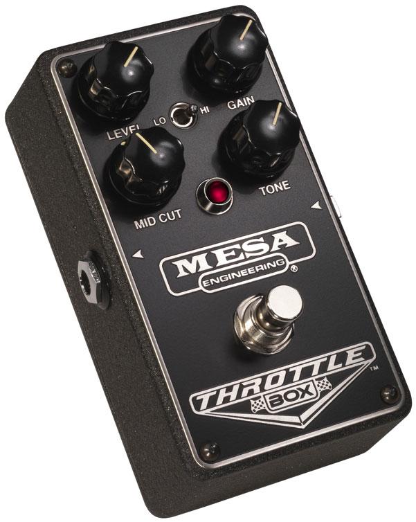 mesa boogie ltd throttle box high gain distortion guitar pedal full compass. Black Bedroom Furniture Sets. Home Design Ideas