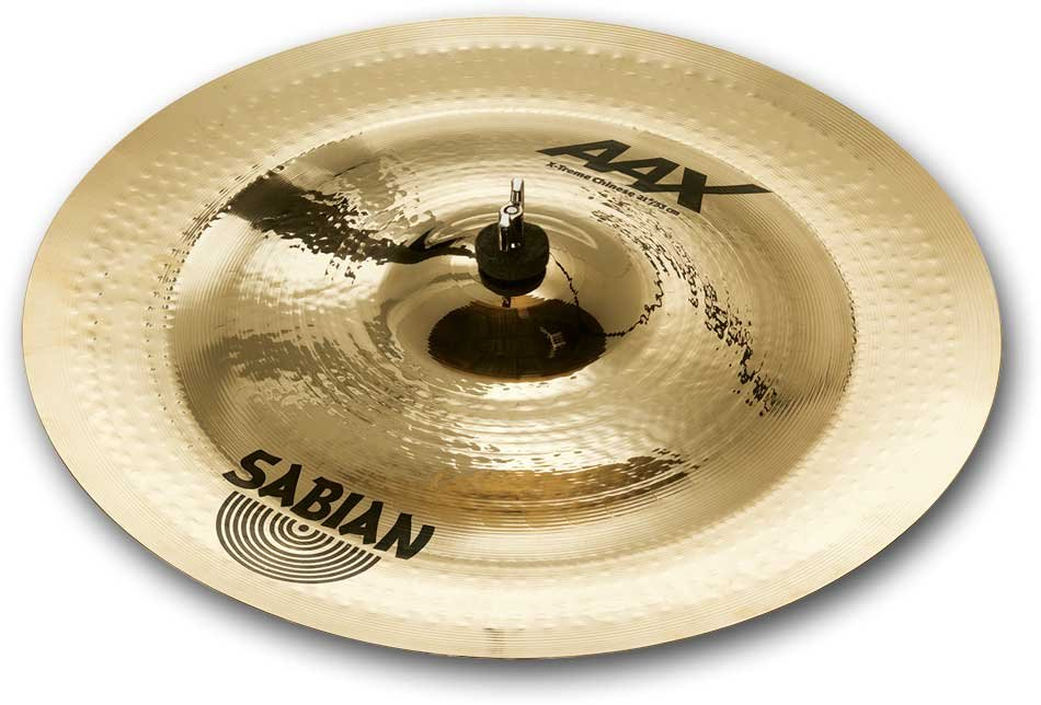 "17"" AAX X-Treme Chinese Cymbal in Brilliant Finish"