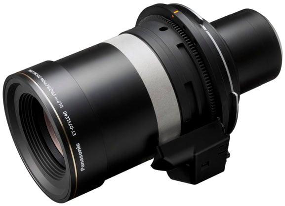 Zoom Lens for PT-DZ21K, PT-DS20K, PT-DW17K Projectors