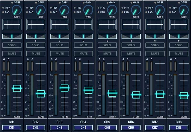 32-Channel Digital Live Mixing Console