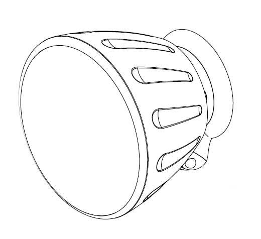 """3"""" Surface Mount Speaker, White"""