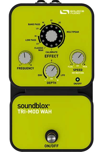 SoundBlox Tri-Mod Wah