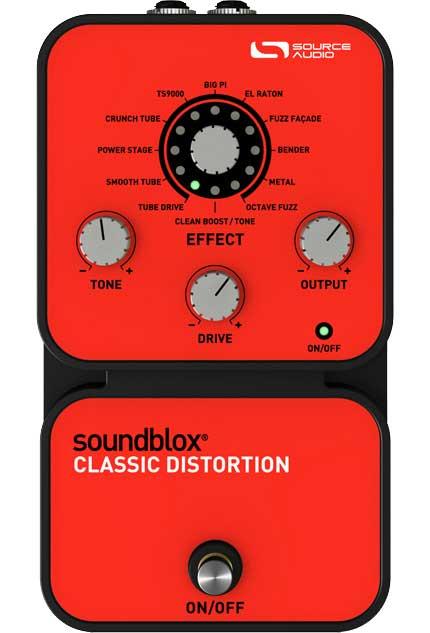 Source Audio SA124 SoundBlox Classic Distortion SA124
